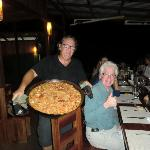 Juan and his Paella