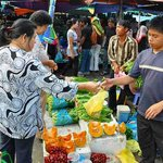 Kg Kianggeh Open Air Market