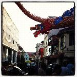 The longest dragon at the Jonker Walk