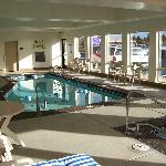 Relax & Unwind in our indoor pool & spa!