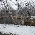 Visit the Muddy Park in Snow