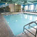Enjoy the hotel's indoor pool