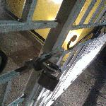  Padlock on the Front Gate
