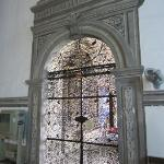 An amazing iron-work door.  Worth the 100 php just to see this door in my book.