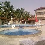 Ramada Resort Accra - pool area