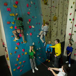 Kids climbing activities at Boulders