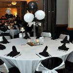  Banquet Room ~ Black &amp; White Affair