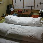 ...and the room with the tatamis (beds)