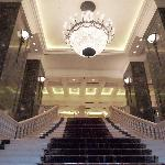 Entrance to the Phoenicia lobby.