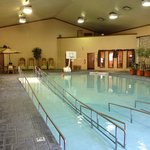 Clifty Inn indoor pool.