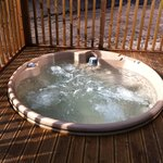 Hot-tub in Lodge