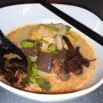  Curry Kuey Teow@RM8.50+ 2.00 for extra pig&#39;s blood.