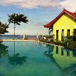Surya Rainbow Villa's  the pool