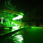swimming pool by Night.