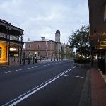 Downtown Mount Gambier in the evening