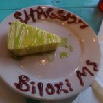 Key lime pie at Shaggy's!!