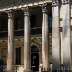  The pillars of old Brisbane at Customs House