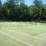 tennis courts we didn't get to use