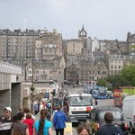 View of Edinburgh from Princes Street