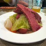 Corned beef and cabbage 3-17-2012