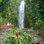  Waterfall on St. Lucia