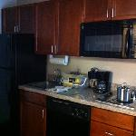 kitchen in our room