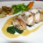 rabbit with morilles mushrooms