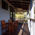 Verandah outside queen room.