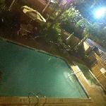 view from our room - pool