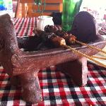 Satay the best in Bali