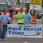 The Crew from Kids Beach Tours