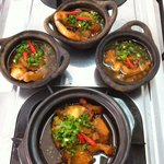 Cá Kho Tộ - fish simmered in a rich spicy sauce