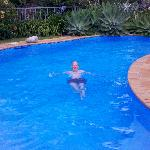 The swiming pool