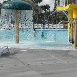 Picture of the small kids pool