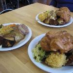 Roast dinners at the cafe