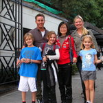 Shanghai guide Flora and lovely family from the States