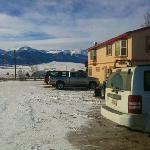  Parking lot of Westcliffe Inn