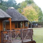 One of the chalets at Antler's Lodge.