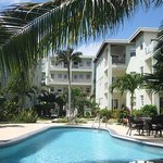 Pool and Bermuda Beach condo