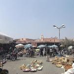 The square in the Medina