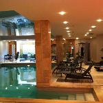 gym, spa and pools area