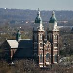  View of St. Mary Church from Lookout Point