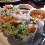 The spring rolls