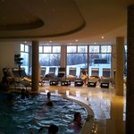  The indoor heated pool