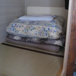 Spacious tatami style dorm (private japanese style rooms also available)