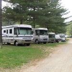 typical campsites