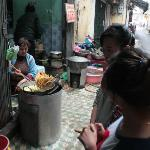 In alley, must try these sweet potato deep fried.