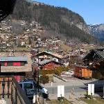 View from Terrace toward Avoriaz