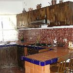 Complete Kitchen, two-room tiled bathroom with shower, comfortable queen/double beds, ceiling fa