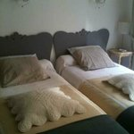  The two-bed chambre that I rented with my friend in March 2012